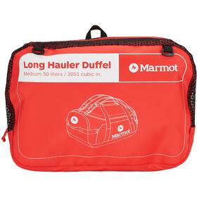 Marmot Long Hauler Duffel Mediano, rojo